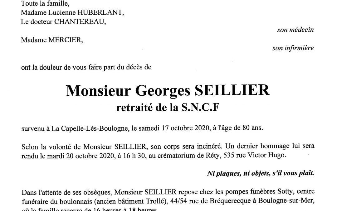 Monsieur Georges SEILLIER